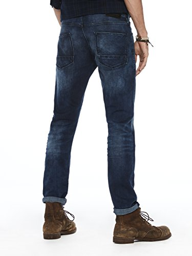 Scotch & Soda Herren Slim Jeans Tye-Blauw Flash Blau (Blauw Flash 1861)
