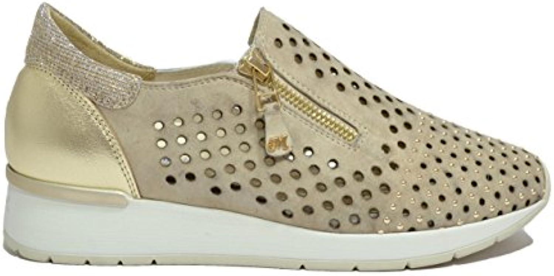 Melluso Slip on scarpe da ginnastica Zeppa Corda Scarpe Donna Walk Techno R20007 | Beautiful  | Scolaro/Ragazze Scarpa