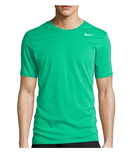 Nike Herren T-shirt Dri Fit Version 2.0, 706625-342, Grün (Spring Leaf/Voltage Green), Gr. XL (Baumwolle-logo-leibchen)