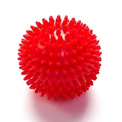 Black Mountain Schwarz Mountain Produkte Deep Tissue Massage Ball mit Spikes, Products, rot (Spike Ball Roller Massage)
