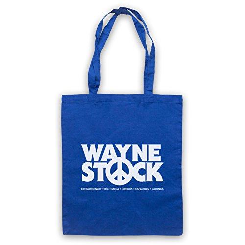 Ispirato Da Waynes World 2 Waynestock Mantelle Non Ufficiali Blu