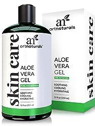 ArtNaturals Organic Aloe Vera Gel 12 Fl Oz/355ml