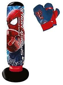 d 39 arpeje punching ball spiderman sonore jeux. Black Bedroom Furniture Sets. Home Design Ideas