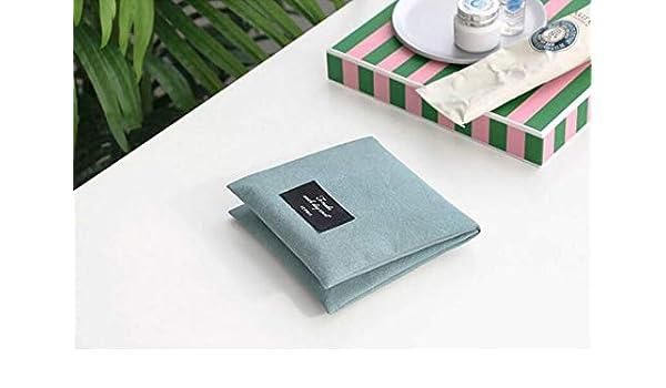 Kosmetiktasche Hygiene Baumwolle Tasche Geldbörse Handtasche Aufbewahrungsbeutel