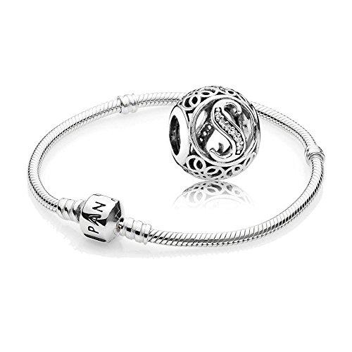 Original-Pandora-Geschenkset-1-Silber-Armband-590702HV-und-1-Silber-Charm-Vintage-S-791863CZ