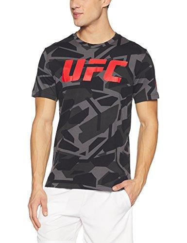 Reebok UFC FG Smash Camo SS TEE SHIRT, HERREN