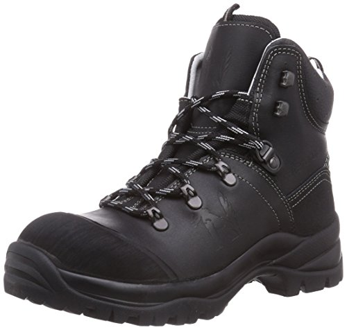 MTS Sicherheitsschuhe Santos Professional Berg S3 Flex Ük Hi/Ci 4008, Chaussures de sécurité homme Noir (Schwarz)