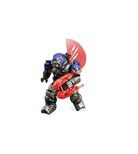 Preisvergleich Produktbild Mattel Mega Bloks - Halo Covenant Minor Brute Figur Purple Minfigur