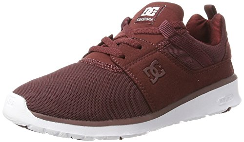 DC Shoes Heathrow, Zapatillas para Mujer, Rojo (Burgundy), 41 EU