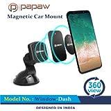 Car Holder By Papaw® Magnetic Car Mobile Holder | Car Phone Holder | Universal Car Mount Holder | Cell Phone Holder In Car
