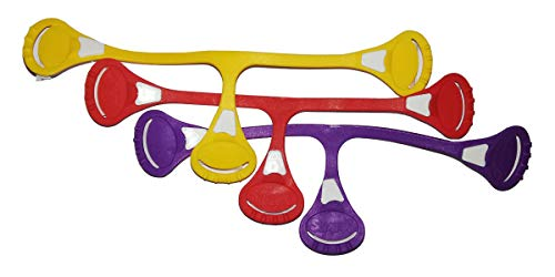 3x Snappi Windelklammern verschiedene kräftige Farben