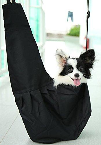 Oi Labels Dog Puppy Cat Pet Shoulder (Tote Style) Sling Bag Carrier Holder - Large (4 to 6 Kg) Red & White 1