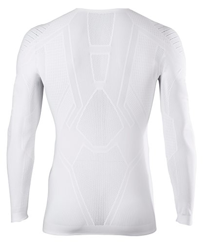 FALKE Herren Underwear Cool Longsleeve Tight Fit Men Sportunterwäsche White