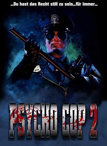 Psycho Cop 2 - Exklusiv Limited Uncut Mediabook (222 Stück nummeriert) - DVD - Blu-ray