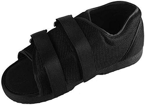 QMZDXH Cirugía Postoperatoria,Zapato Postoperatorio Fractura Roto Pie Zapato de Soporte Ortopédico Fractura de Pie Ideal para Hombre y Mujer Apto