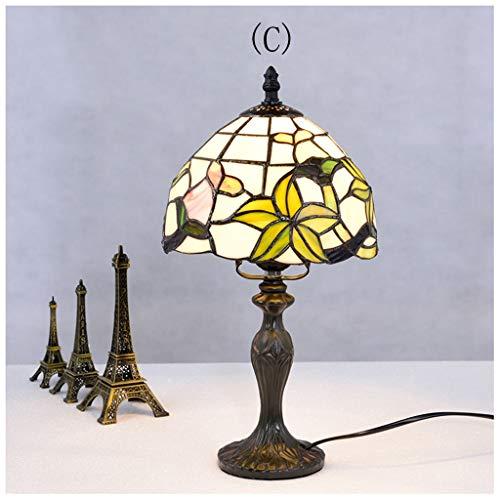 YYF Lampe de table rétro américaine classique baroque 20cm (Color : C)