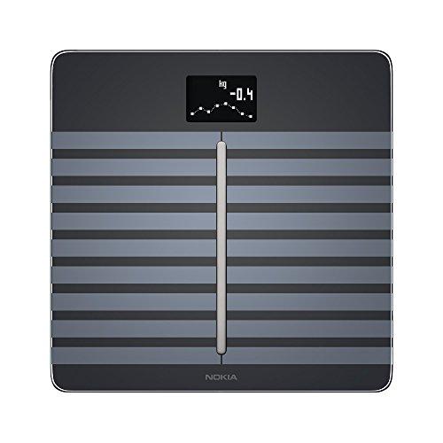 Nokia Body Cardio - Báscula wifi de salud cardíaca y composición corporal, negro