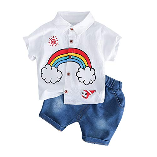 Baby Strampler Jungen Mädchen Schlafanzug Baumwolle Overalls Säugling Spielanzug Baby-Nachtwäsche - Vintage Herren Schlafanzug Licht