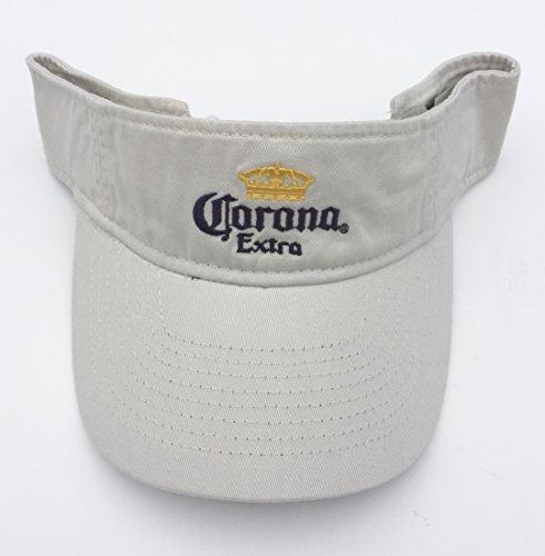 Corona Extra Khaki Visor Adult One Size by Corona