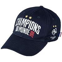 Equipe de FRANCE de football Casquette FFF - Champion du Monde 2018 - Collection Officielle Taille réglable