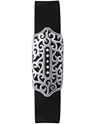 VANLUCKY Bands Cover Sleeve Protector Accessories for Fitbit Flex 2, Jewelry Bling Accessory Stainless Steel (NO TRACKER)