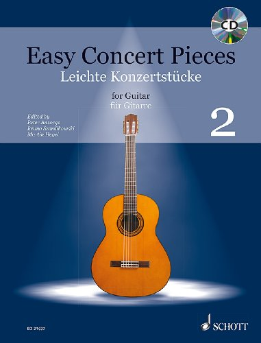 Easy concert pieces Volume 2 +CD --- Guitare