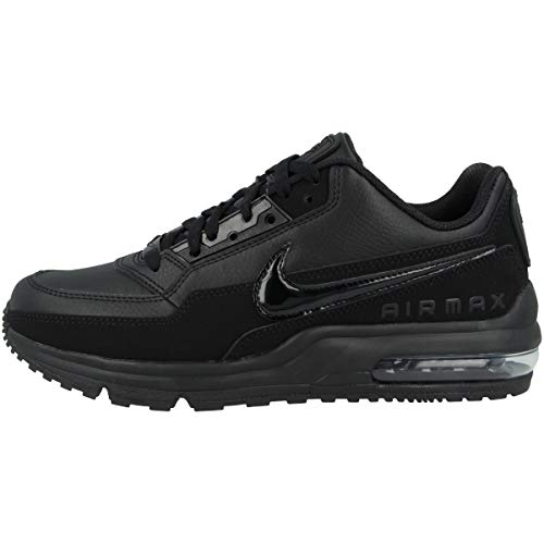 Nike Männer Air Max Ltd (Nike Herren AIR MAX LTD 3 Traillaufschuhe, Schwarz Black 020, 49.5 EU)