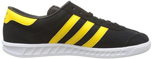 adidas Originals Hamburg, Baskets Basses Homme Noir (Core Black/Eqt Yellow/footwear White)