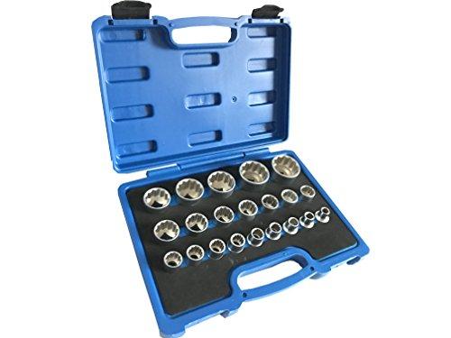 Preisvergleich Produktbild Vielzahn Steckschlüssel Nusskasten 8-36mm 12 Kant - 6 Kant XZN Torx System