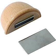 Brinox B78280H - Tope retenedor de madera con imán, 4,8 x 3,6 x 2,5 cm, color haya