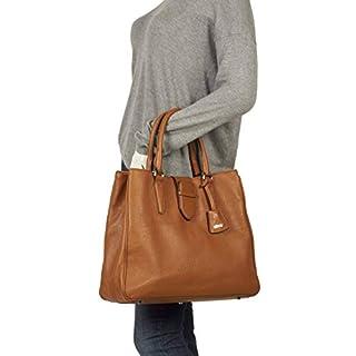 abro Adria Leder Handtasche #3 rot