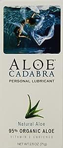 Aloe Cadabra Organic Lubricant, Natural, 2.5 Ounce