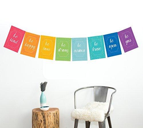 Children Inspire Design Bandiera di pace carte parete mini collezione