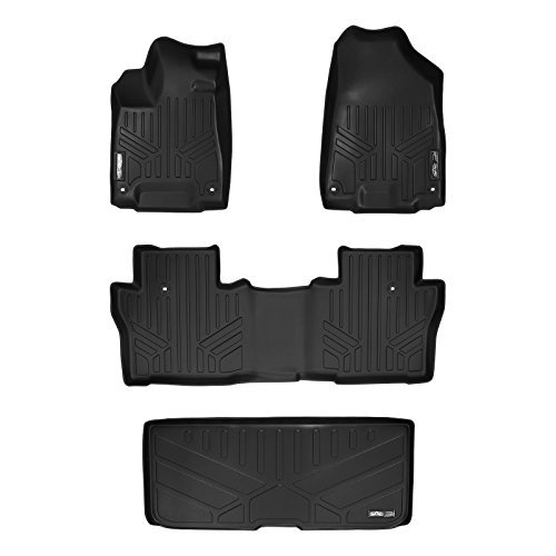 maxfloormat-floor-mats-and-maxtray-cargo-liner-behind-third-row-for-honda-pilot-2016-2-row-set-black
