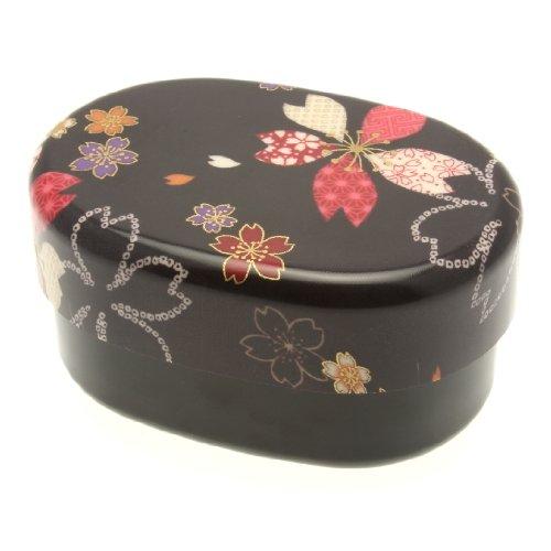 Kotobuki Bento-Box, 2-stöckig Schwarz (Kotobuki-bento)