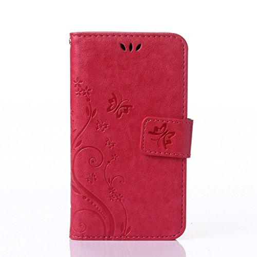Blume Drucken Design schutzhülle für Sony Xperia M2 D2303 D2305 Hülle,PU Leder...