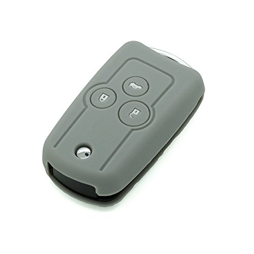 fassport Silikon Cover Haut Jacke Fit für Honda Flip Fernbedienung Schlüssel cv3202 (Honda Remote Cover)
