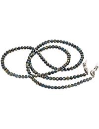 b66fb7e6979335 Rainbow Collier Chaîne Cordon pour Lunettes Porte-Lunette pour Femme Pierre  Naturelle Perles Agate