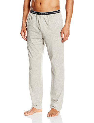 Calvin Klein Herren Hose PANT, Gr. X-Large, Grau (GREY HEATHER 080) (Kleine Pyjama-hose)