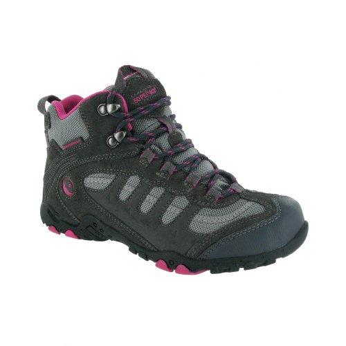 Hi-Tec Penrith - Chaussures montantes de randonnée - Femme Chocolat/Rose