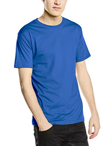 Stedman Apparel Herren T-Shirt Classic-t Fitted/st2010 Blau - Blue (Bright Royal)