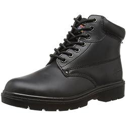 Dickies Antrim - Calzado de protección para hombre, color negro, talla 43