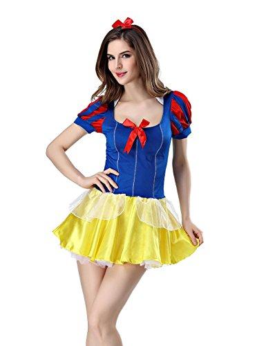 Uniform in Versuchung Hohle Spitze Perspektive Kleid Halloween Bier Mädchen Spiel cosplay , blue , one size (Halloween-bier-mädchen)