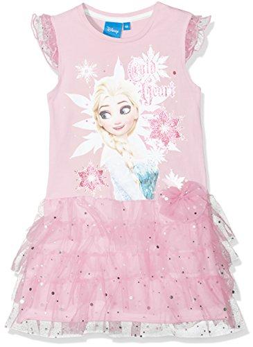 Disney Frozen Mädchen Kleid Frozen Snowflake Rose, 5-6 Jahr (Disney Frozen Kleider)