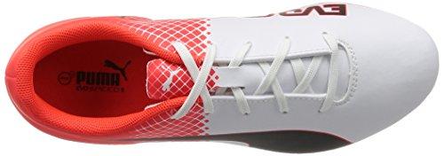 Puma evoSPEED 5.5AG Jr chaussure de football Nero/Bianco/Red Blast