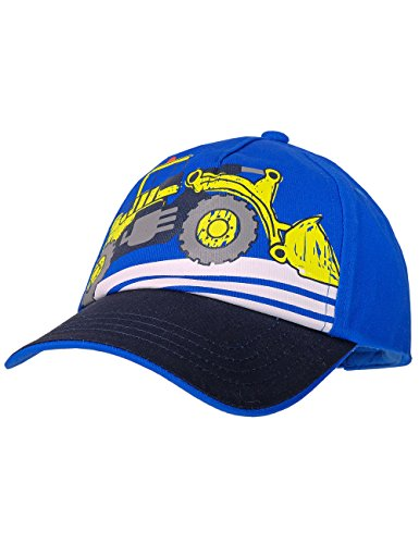 maximo Jungen Kappe Cap Digger, Blau (Bluette/Navy 5448), 51/53