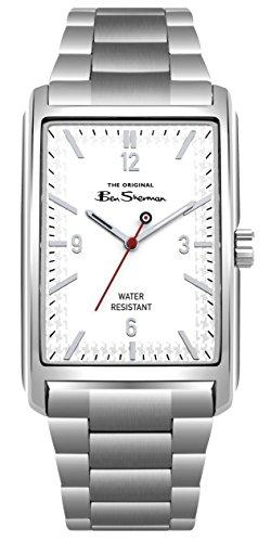 Ben Sherman Reloj Análogo clásico para Hombre de Cuarzo con Correa en Acero Inoxidable BS013WSM