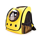 GLMAMK Outing Cat Kennels, Breathable Handheld PU Bag Lounge, Portable Cat Bag Cat Kennels Pet Supplies