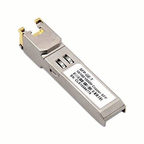 Macroreer Gigabit RJ45 SFP Moudle for Juniper QFX-SFP-1GE-T/ EX-SFP-1GE-T  1000BASE-T Copper SFP Transceiver