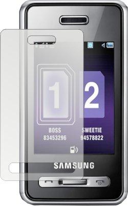 DORISAVE Spiegel-Displayschutzfolie Samsung SGH-D980 Duos (2 St.)